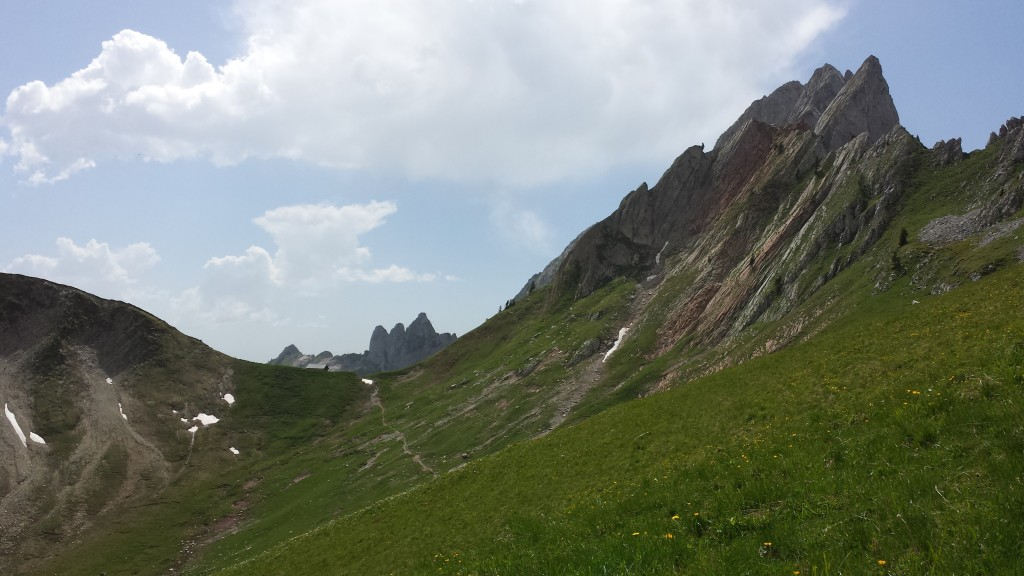 The even greater remoteness of the Alps in summer